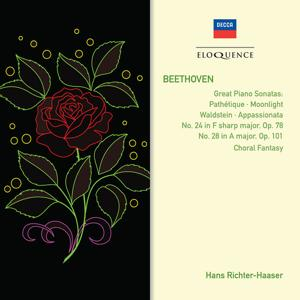 Beethoven: Piano Sonatas Nos. 8, 14, 21, 23, 24; Choral Fantasy