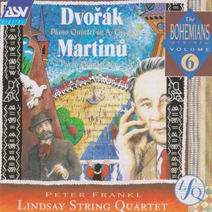 Dvorak, Martinu: Piano Quintets