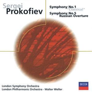 Prokofiev: Symphonies Nos. 1 & 5, Russian Overture