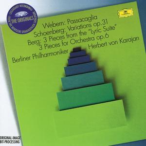Webern: Passacaglia / Schoenberg: Variations Op.6 / Berg: 3 Pieces from the