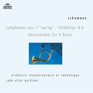Schumann: Symphonies Nos.1 & 4; Konzertstück for 4 Horns