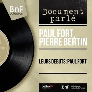 Leurs débuts: Paul Fort (Mono Version)