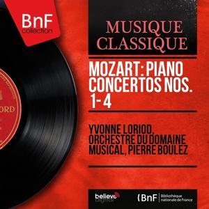 Mozart: Piano Concertos Nos. 1 - 4 (Mono Version)