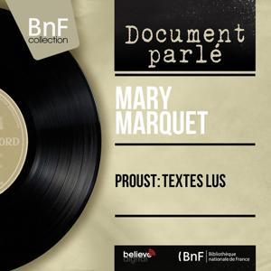Proust: Textes lus (Mono Version)