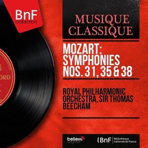 Mozart: Symphonies Nos. 31, 35 & 38 (Mono Version)