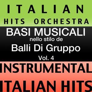 Basi musicale nello stilo dei balli di gruppo (instrumental karaoke tracks), Vol. 4