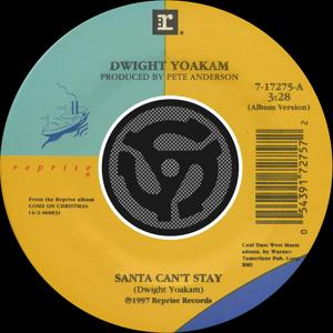 Santa Can't Stay / The Christmas Song [Chestnuts Roasting On An Open Fire] [Digital 45] (with PDF)