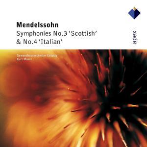 Mendelssohn : Symphonies Nos 3 & 4  -  Apex