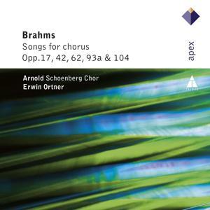 Brahms : Lieder & Romanzen - Secular Choruses