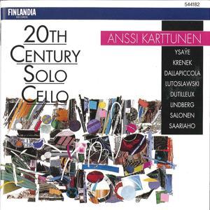20th Century Solo Cello