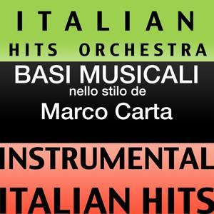 Basi musicale nello stilo dei marco carta (instrumental karaoke tracks)