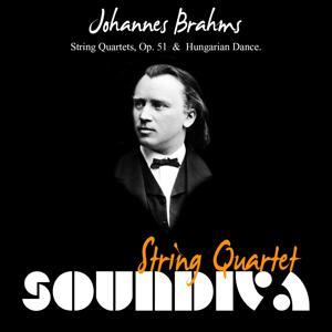 Brahms: String Quartets, Op. 51  &  Hungarian Dance