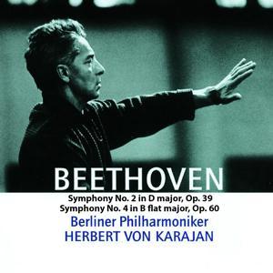 Beethoven: Symphonies Nos. 2 & 4