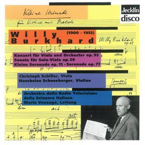Willy Burkhard: Viola-Konzert, Op. 93, Sonate für Solo-Viola, Op. 59, Kleine Serenade, Op. 15 & Serenade, Op. 77