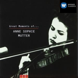 Great Moments of Anne-Sophie Mutter