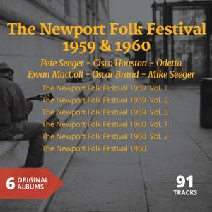 The Newport Folk Festival 1959 & 1960 (6 Original Albums)