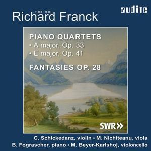 Richard Franck: Piano Quartets & Fantasies