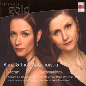 Mozart & Rachmaninow: Works for two Pianos, Piano Duet and six handed Piano