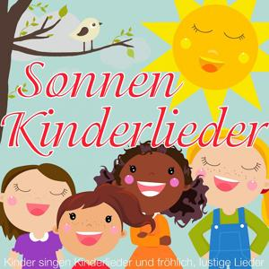 Kinder singen Kinderlieder und fröhlich, lustige Lieder