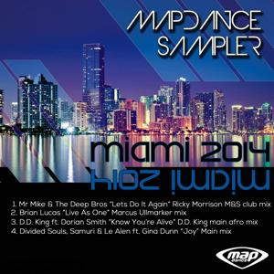 Map Dance Sampler: Miami 2014