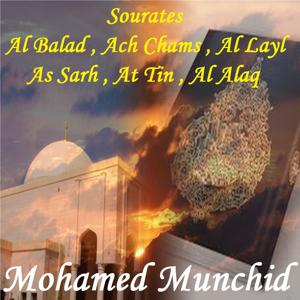 Sourates Al Balad , Ach Chams , Al Layl , As Sarh , At Tin , Al Alaq (Quran)