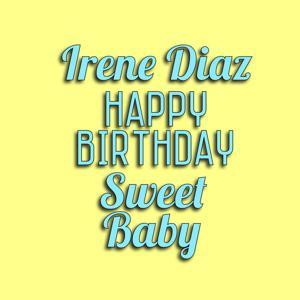 Happy Birthday Sweet Baby