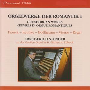 Orgelwerke der Romantik, Vol. 1, Große Orgel, St. Marien zu Lübeck