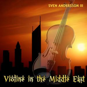 Violine in the Middle East (Dubai Sunset at Jumeirah Beach)
