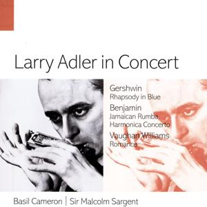 Larry Adler in Concert.