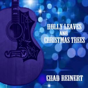 Holly Leaves and Christmas Trees