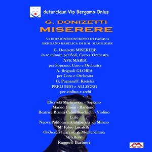 Donizetti: Miserere & Ave Maria - Brignoli: Gloria - Kreisler: Praeludium and Allegro in the Style of Pugnani