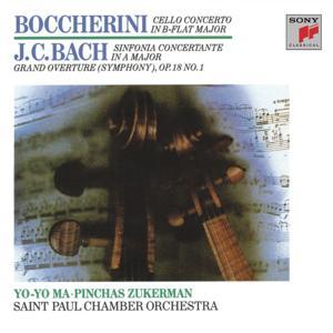 Boccherini: Cello Concerto; J.C. Bach: Sinfionia Concertante (Remastered)
