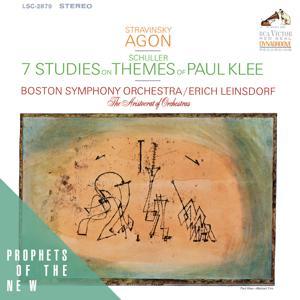 Stravinsky: Agon - Schuller: Seven Studies on Themes of Paul Klee