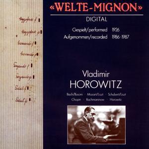 Vladimir Horowitz on Welte-Mignon [1926 / 1986/87]