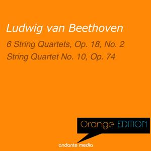 Orange Edition - Beethoven: 6 String Quartets, Op. 18, No. 2 & String Quartet No. 10, Op. 74