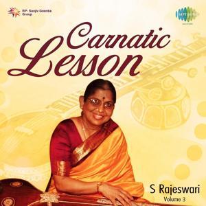 Carnatic Lessons, Vol. 3