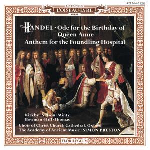 Handel: Queen Anne Birthday Ode; Foundling Hospital Anthem / Haydn: Missa Brevis