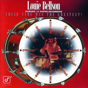Louie Bellson Honors 12 Super-Drummers -- Their Time Was The Greatest!