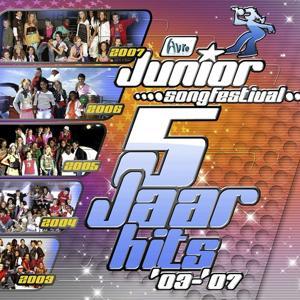 Junior Songfestival - 5 jaar hits '03-'07