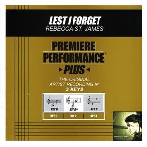 Premiere Performance Plus: Lest I Forget