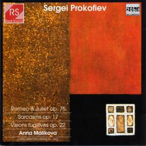 Sergei Prokofiev : Romeo & Juliet Op. 75 - Sarcasms Op.17 - Visions fugitives Op.22