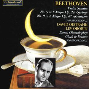 Ludwig Van Beethoven : Violon Sonatas No. 5 Springs and No. 9 Kreutzer