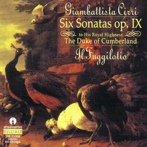 Cirri : Six Sonatas Op.9