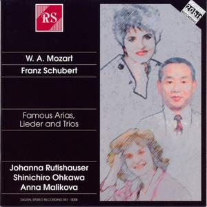 Wolfgang Amadeus Mozart and Franz Schubert: Famous Arias / Lieder and Trio's