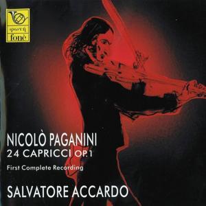 Nicolò Paganini : 24 Capricci for Violin Solo Op. 1