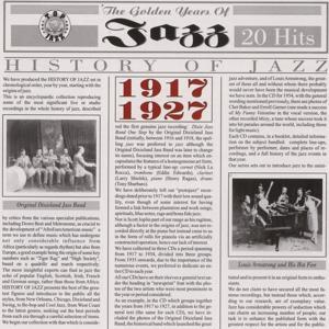 History Of Jazz 1917 - 1927